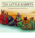 img - for By Virginia Grossman Ten Little Rabbits book / textbook / text book