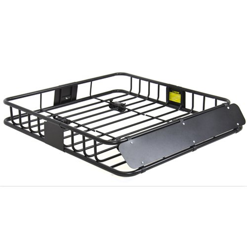 Best Choice Products Sky1515 Universal Roof Rack  Cargo Car Top Luggage Carrier Basket Traveling Suv Holder