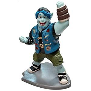"RT Disney Pixar Onward Barely Lightfoot Blue Elf 4"" Lose PVC Figure Cake Topper"
