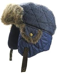 Boys Winter Hats Big Kids Cowboy Cloth/Aviator Winter Earflap Cap