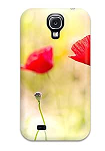 Heidiy Wattsiez's Shop Awesome Design Poppy Flowers Hard Case Cover For Galaxy S4 7979635K80651859