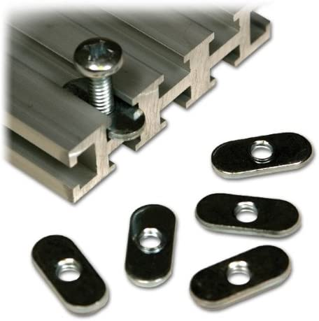 Woodhaven 5760 1//4-20 Oval Nuts