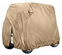 Leader Accessories Golf Cart Cover Storage Fit EZ Go, Club Car, Yamaha Cart W Zipper