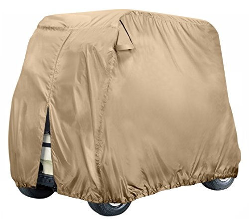 Leader Accessories Golf Cart Cover Storage Fit EZ Go, Club Car, Yamaha Cart W Zipper-2 person/4 person – DiZiSports Store