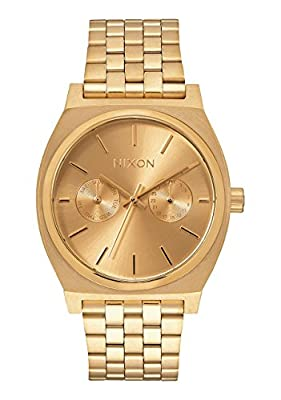Nixon Time Teller A045. 100m Water Resistant Watch (37mm Stainless Steel Watch Face) by Nixon