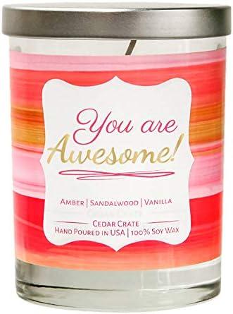 Awesome Vanilla Sandalwood Decorative Aromatherapy