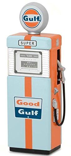 1951 Wayne 505 Vintage Gas Pump Gulf Oil Diecast In 1 18 Scale By Greenlight