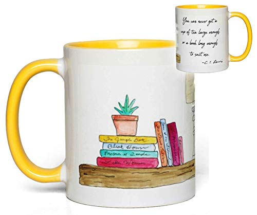 - C. S. Lewis Book Lover's Quote Mug Gift