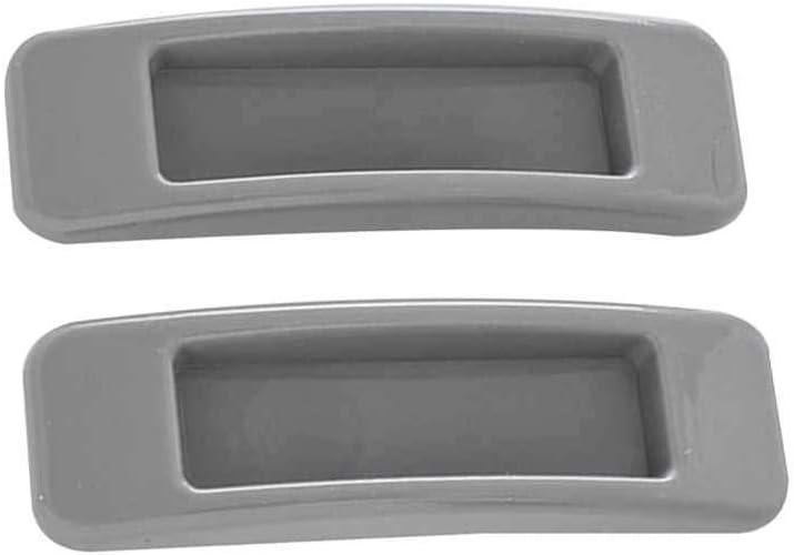 LEVEL GREAT 2pcs / Set Autoadhesivas de plástico para Puertas corredizas Ventana Tirar de la Manilla de Armario Armario de la Cocina cajón Perillas