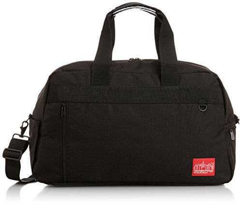 Manhattan Portage Duffel Bag Featuring CORDURA Brand Fabric, Black by Manhattan Portage