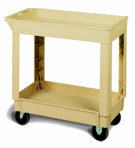 Continental 5800BE, Beige Small Utility Cart (Case of 1)