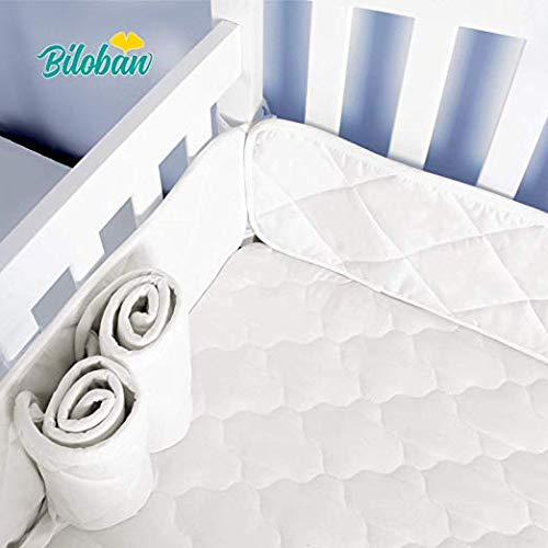 Mini Crib Bumper Pads for Portable Mini Cribs 24