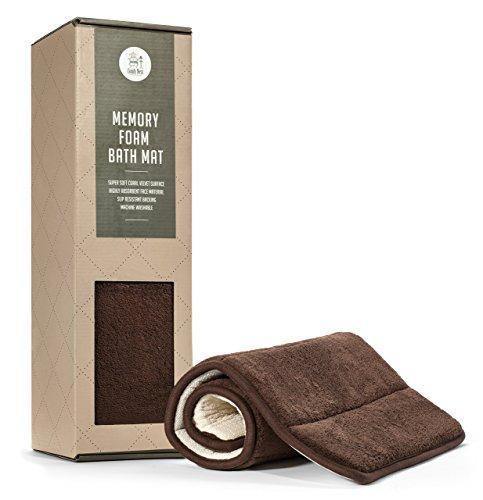 Comfy Nest Memory Foam Bath Mat Ultra Thick Super Soft & Plu
