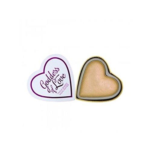 I Heart Makeup Blushing Hearts Golden Goddess (Pack of 6) - 心黄金の女神を赤面心臓メイク x6 [並行輸入品] B071NHDNQF