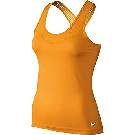 27d2ac516e8b1 Image Unavailable. Image not available for. Color  Nike Womens Dri-Fit Pro  Hypercool Training Tank Top ...
