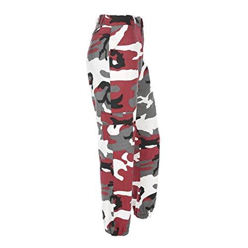 Jeans Camouflage Camouflage Occasionnels de extrieures de de Sport Rouge Femmes de Camo de Pantalons GreatestPAK Pantalons rwrxqO4X