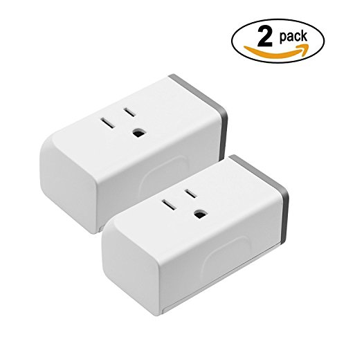 Sonoff S31(2-Pack) Wi-Fi Smart Plug with Energy Monitoring, Works with Amazon Alexa & Google Home Assistant, IFTTT Supporting, No Hub Required, Smart Socket Outlet Timer Switch Remote Control Devices