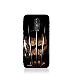 LG Stylus 3 TPU Protective Silicone Case with Wolverine Design