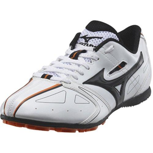 Mizuno Tempo MD Chaussures de Spike chuh pour des distances de Course Blanc–08KM de 17209