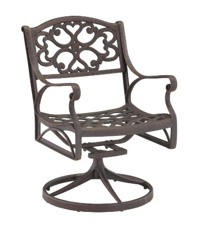 (Biscayne Bronze Rocking/Swivel Outdoor Arm Chair by Home Styles)