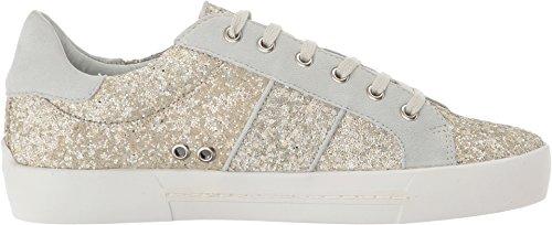 Joie Womens Dakota Fashion Sneaker Latte Glitter / Kid Suede