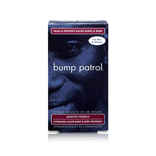 Bump Patrol Sensitive Strength Aftershave Formula - Gentle After Shave Solution Eliminates Razor Bumps and Ingrown Hairs - 2 Ounces ()