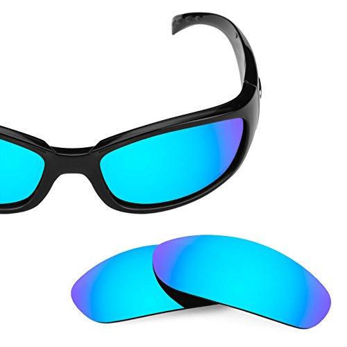 Verres de rechange pour Costa Hammerhead — Plusieurs options Bleu Glacier MirrorShield® - Polarisés