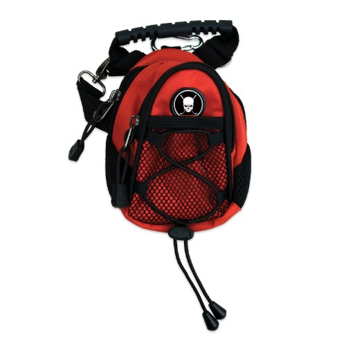 CMC Golf Skull Mini Day Pack (Red), Outdoor Stuffs