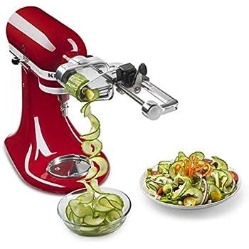 Amazon Com Kitchenaid Ksm2apc Spiralizer Plus Attachment