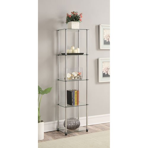 Convenience Concepts 5-Tier Glass Tower 157010