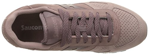 Saucony Shadow O Suede Donna Formatori Plum - 9 UK