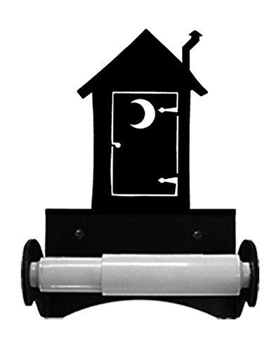 Wrought Iron Outhouse Toilet Tissue Holder