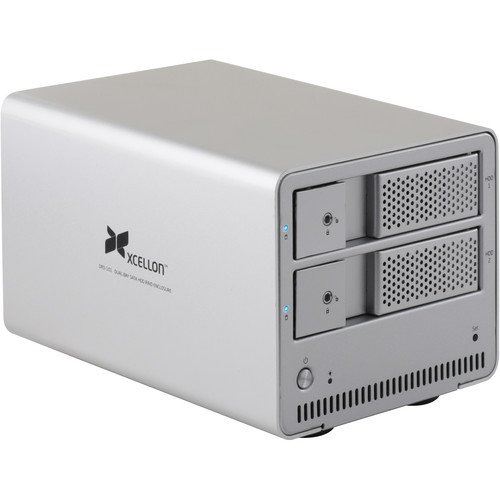 Xcellon DRD-101 Dual-Bay Raid System for 3.5 by Xcellon