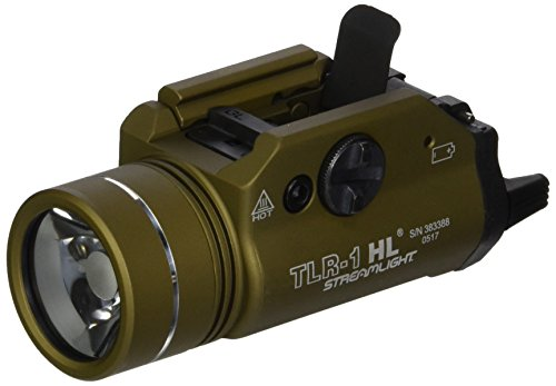 Streamlight 69266 TLR-1-HL High Lumen Rail-Mounted Tactical Light, Flat Dark Earth by Streamlight (Image #4)