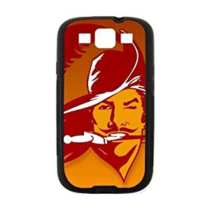 Sports team Tampa Bay Buccaneers L Denim Samsung Galaxy S3 I900 Case Cover (Laser Technology)