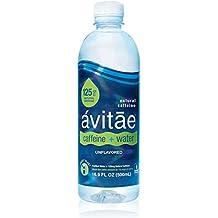 Avitae Caffeinated Water, 125 mg, 16.9 Oz (Pack of 12)