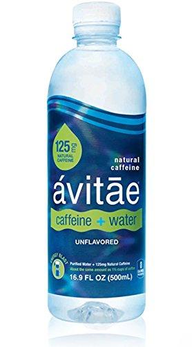 Avitae Natural Caffeine Water 125mg Caffeine | No-Crash Coffee & Soda Substitute | Green Coffee Bean Extract, Zero Chemicals, Zero Sugar, Zero Calories (12 Pack)