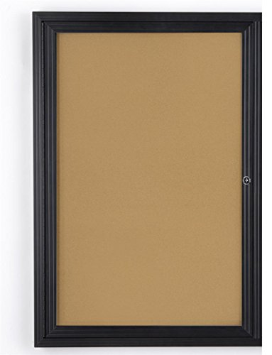 Enclosed Cork Board (Displays2go 24
