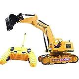 5 Channel Super Power R/C Excavator JCB Toy Truck (Yellow, Black)