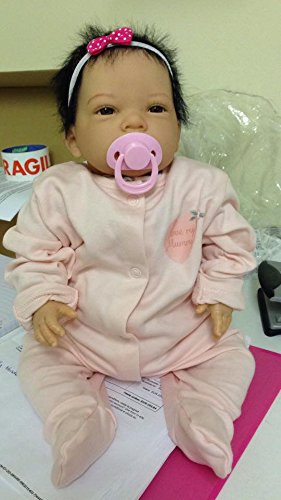 Amazon.es: Reborn Baby Girl Muñeca, Heavy, 20 cm de largo ...
