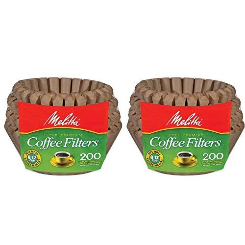 Melitta 3 Pack of 62957 Super Premium Coffee Filters, 200 Count