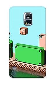 QEHtbgp2459qoXWm Anti-scratch Case Cover Catenaryoi Protective Super Mario Case For Galaxy S5