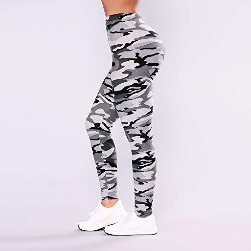 b9e3c92db8dcb AOJIAN Yoga Pants Buttery Soft Tummy Control Jogger Capri Workout Running  Camo Sports Leggings for Women