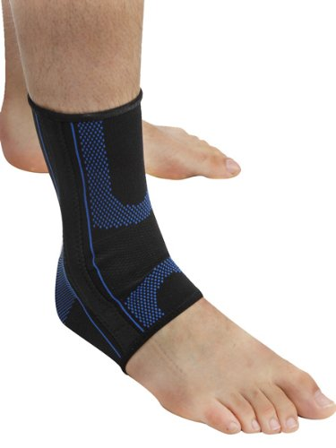 Pro-Tec Athletics Gel Force Ankle Sleeve, Medium (Gel Protec)