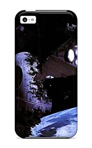 New DanRobertse Super Strong Star Wars Moon Death Star Tie Star Destroyer Return Of The Jedi Starwars Tpu Case Cover For Iphone 5c