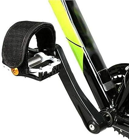 Bike Pedal Straps Belt Fixed Gear Anti-slip Toe Clips Safety Binding Band 6N