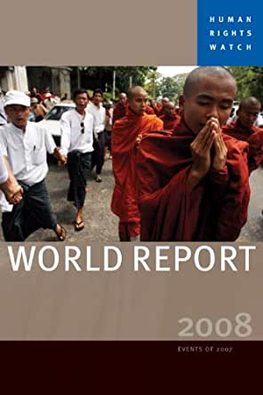 World Report 2007 Events Of 2006 Human Rights Watch World Report Paperback