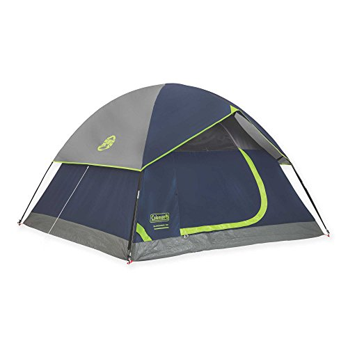 Coleman Sundome 3-Person Camping Tent | Measures 7' L x 7' W and 4'4