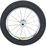 Ironton 12in. Solid Rubber Spoked Wheel