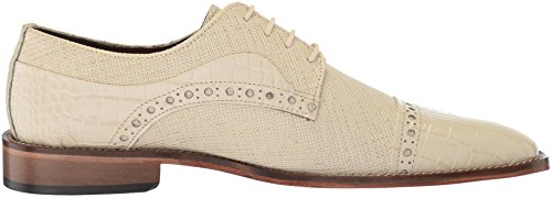 cheap sale top quality Stacy Adams Men's Rodrigo Cap-Toe Lace-up Oxford Ivory high quality cheap online free shipping newest OQnDkwTG